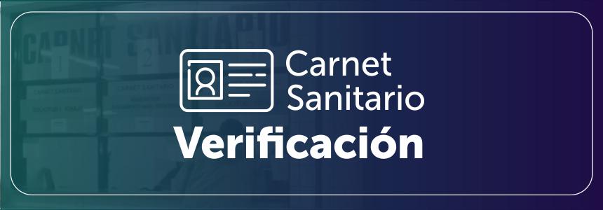 carnet verificacion