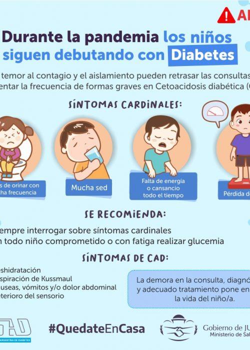 Diabetes niños covid
