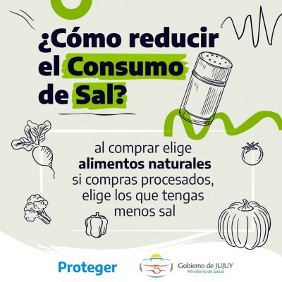 Como reducir el consumo de sal 1