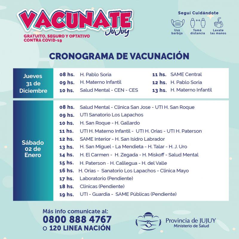Cronograma - VACUNA COVID-04