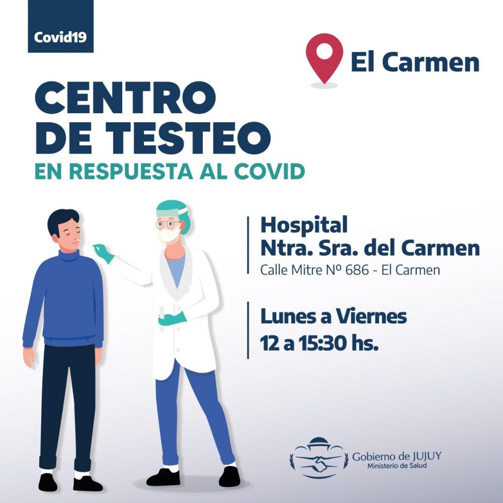 El Carmen - Centro de Testeo