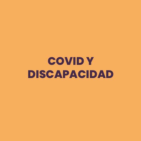 covid y discapacidad