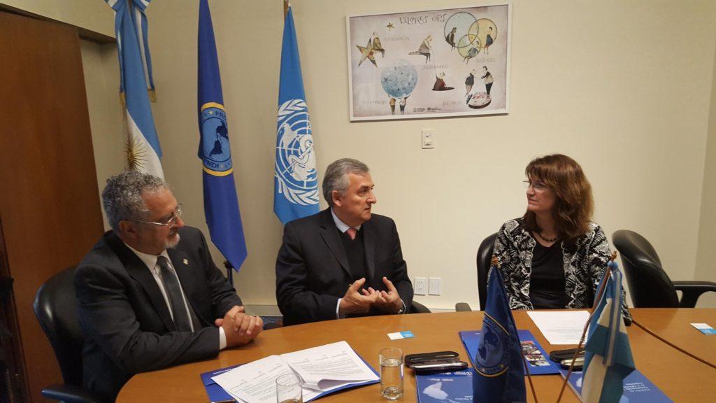 El Ministerio de Salud de Jujuy firmó un convenio de cooperación con la Organización Panamericana de la Salud que fortalecerá el plan estratégico provincial impulsado por el Ministro Gustavo Bouhid.
